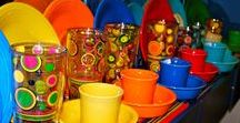 Fiestaware / I love the bright colors and simplicity of Fiestware.