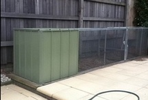 Chicken Coops - Customer Photos / Sometimes customers send us photos of our products on their farms - the picture quality might not be high, but they do love their chickens!