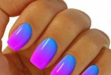 Nails: Pretty Summer Colors