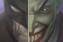 Batman and the Joker / The Dark Knight and the Clown Prince
