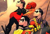 Nightwing and the Boy Wonders / Dick, Tim, Jason, Damien and Stephanie
