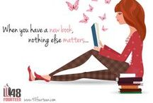 Fun Book Quotes / Obsessed with books? So are we! Check out these fun book quotes for the book nerd in you!