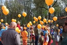 Oranjefeest in Keppel
