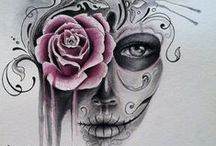Skulls Tattoo designe / Skulls Tattoo designe