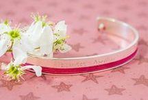 Bangles / Bracelets joncs / Découvrez notre collection de bracelets joncs pour femmes à personnaliser. #bangles #joncs