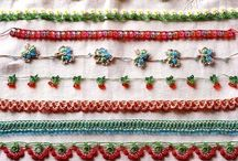 Perline e crochet