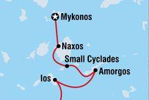 Mykonos-Naxos-Ios-Oia