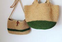 Crochet borse