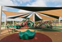 Our Work- Winners Circle Park, Flowood, MS / The best park in the state of Mississippi, with shade, crazy fun playground equipment with 17,000 sq ft of rubber surfacing. Lots of fully accessible, inclusive play fun.