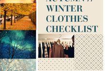 Closet Checklist / by Laura Gunderson