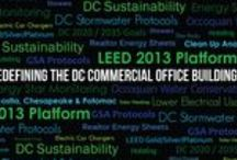 Redefining the DC Commercial Office Building / A board dedicated to DC Sustainability and our presentation, Redefining the DC Commercial Office Building.