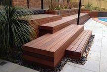 Have - uderum / Terrasser, bede, ideer til uderum, trappeløsninger, planter mm