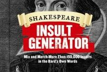 Shakespeare / Homage to the bard! / by Albert Wisner Public Library