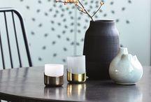 B&W home / Black and white homedecor, interior design