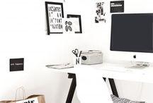 workspace / Tutze.nl - interior - interieur - workspace - werkkamer - werken - stationery - kaarten - bureau