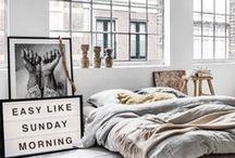 bedroom / Tutze.nl - bedroom - slaapkamer - slapen - dreams - textiel - interieur - styling - decoration