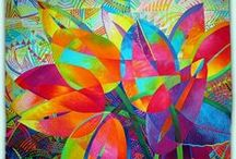 Quilts: Bright & Artistic / by Alison Morehead