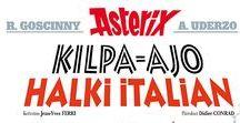 Asterix / Asterix-kansikuvia