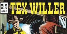 Tex Willer / Tex Willer -aiheisia kansikuvia