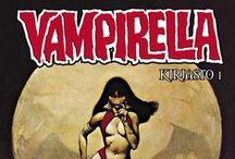 Vampirella / Kauhusarjakuvan ikonisin sankaritar. Vampirella Kirjasto 1 kirjakaupoissa ja sarjakuvakauppiailla 21. 10. 2015!