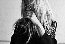 hair + tattoo