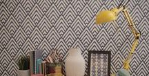 Wallpapers we love /  current wallpaper trends plus the styles we love.