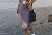 COMO USAR | BODYCON / Inspirações de looks com vestidos e saias bodycon.