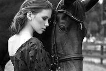 Сьемка / с лошадями