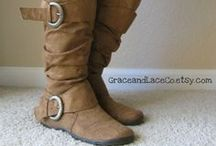 Winter Wardrobe with Knee High boots / by Almond Eyes
