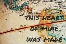 matkustan ympäri maailmaa / ensiapua matkakuumeeseen