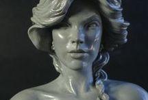 sculpture hair / sculpture