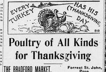 Thanksgiving / Thanksgiving from the lens of Vermont newspapers 1836-1922. / by Vermont Digital Newspaper Project/VTDNP
