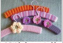 Coat Hangers, Scarfs etc / Knitting and Crochet Coat Hanger Covers Scarfs etc.