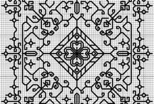 Blackwork / Blackwork Embroidery