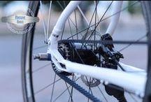 Massive Bikes Belt Conversion / MassiveBikes converted Belt-System bikes with Gates Carbon Drive CDX CenterTrack belts & Trickstuff Exzentriker