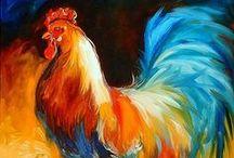 Kippen / Hennen en hanen op hun mooist
