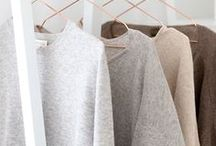 Plain and Simple / Restrained colors in a capsule wardrobe -- clothes for people with creative pursuits