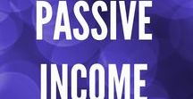 Passive Income / Passive Income - Business Investing Real Estate Blogging Cash Flow Index Funds Financial Freedom Invest FIRE Finance Independance Retire Retirement Early