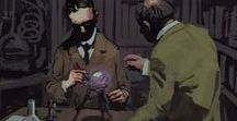 The hopeless downward spiral of lovecraftian horror / AND ALSO other dark.. things...