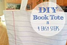 Book Craft Ideas / Who doesn't love a good craft inspired by books?