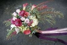 Wedding Flowers purple / inspiring ideas for wedding flowers and decor emphasizing all shades of purples and lavenders.