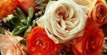 Wedding Flowers Orange / Inspirations in orange for your wedding.