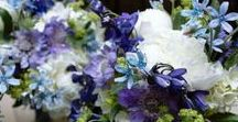 Wedding flowers Blue / wedding flowers that contain blue flowers or accents