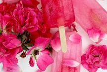 Pretty in Pink } Design in colour / Amazing pinks in gardens, landscapes, exteriors and interiors