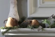 Christmas } Signature style / Christmas styling outside in, inside out.