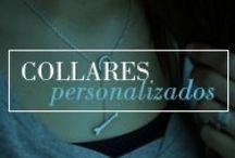 Joyas personalizadas - Collares para mujer / Collares de plata personalizados para mujer. Crea tu propia joya a tu gusto. Puedes grabar desde nombre, fechas especiales o frases, tu eliges. Regalo para mamas, abuelas o esa persona que quieras.