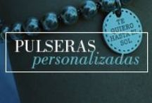 Joyas personalizadas - pulseras para mujer / Pulseras de plata para mujer personalizadas, con una frase o nombres grabados. Ideales para regalo o en ocasiones especiales.