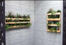 Palets y madera reciclada