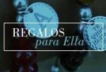 Joyas personalizadas - Regalos para ella / Pulseras, collares y anillos personalizados para mujer.