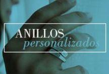 Anillos personalizados / Anillos y alianzas de plata personalizadas